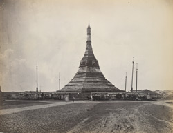 The Soolay Pagoda, Rangoon Town